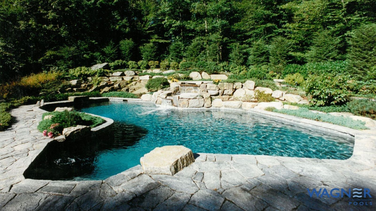 Swimming Pool Features Pool Water Features Wagner Pools Wagner