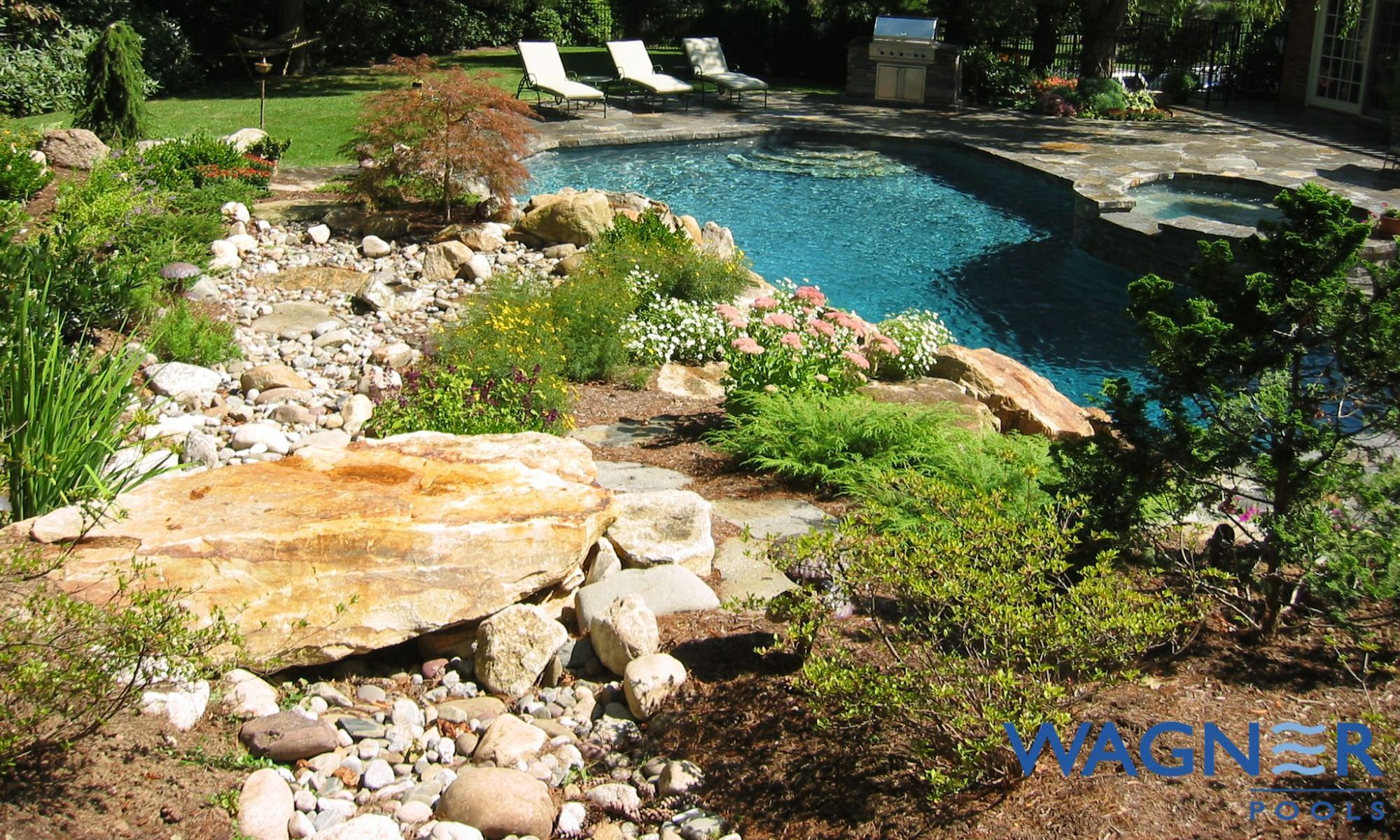 Swimming Pool Builder In Westchester Connecticut Custom Swimming Pools By Wagner Pools