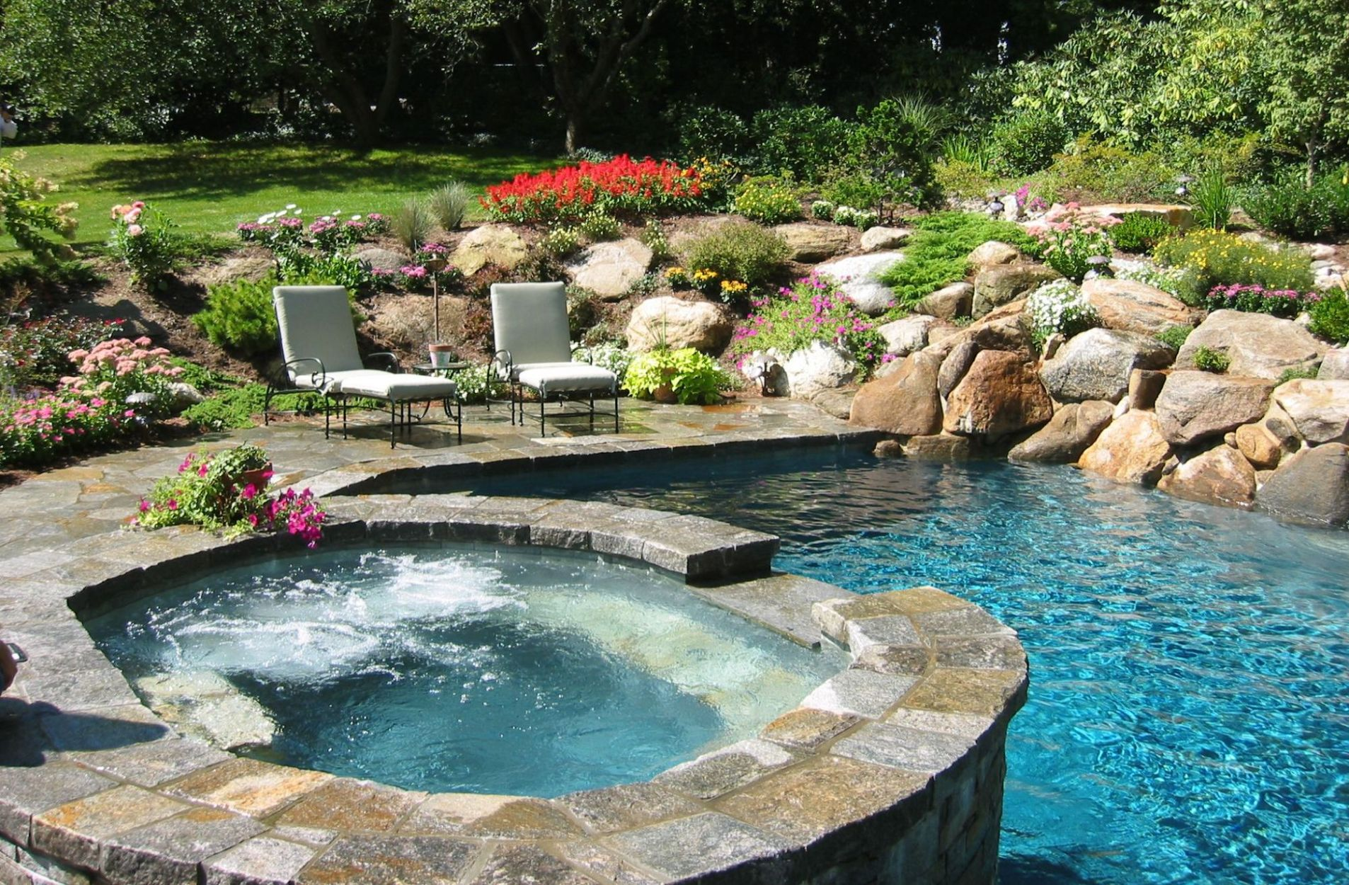 Freeform Swimming Pool Builder In Connecticut Wagner