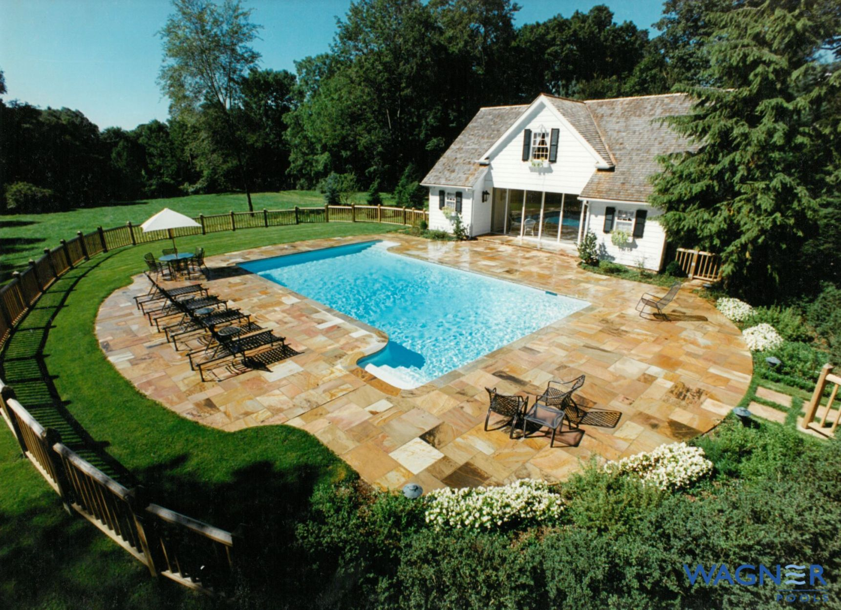 Rectangular And Geometric Swimming Pools By Wagner Pools Rectangular Swimming Pools In