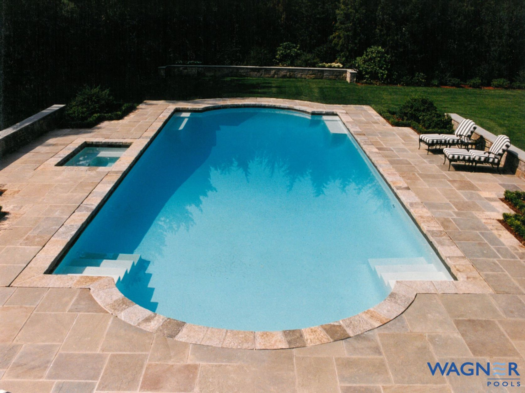 Linear Swimming Pool builder in Connecticut | Wagner Pools | Wagner ...