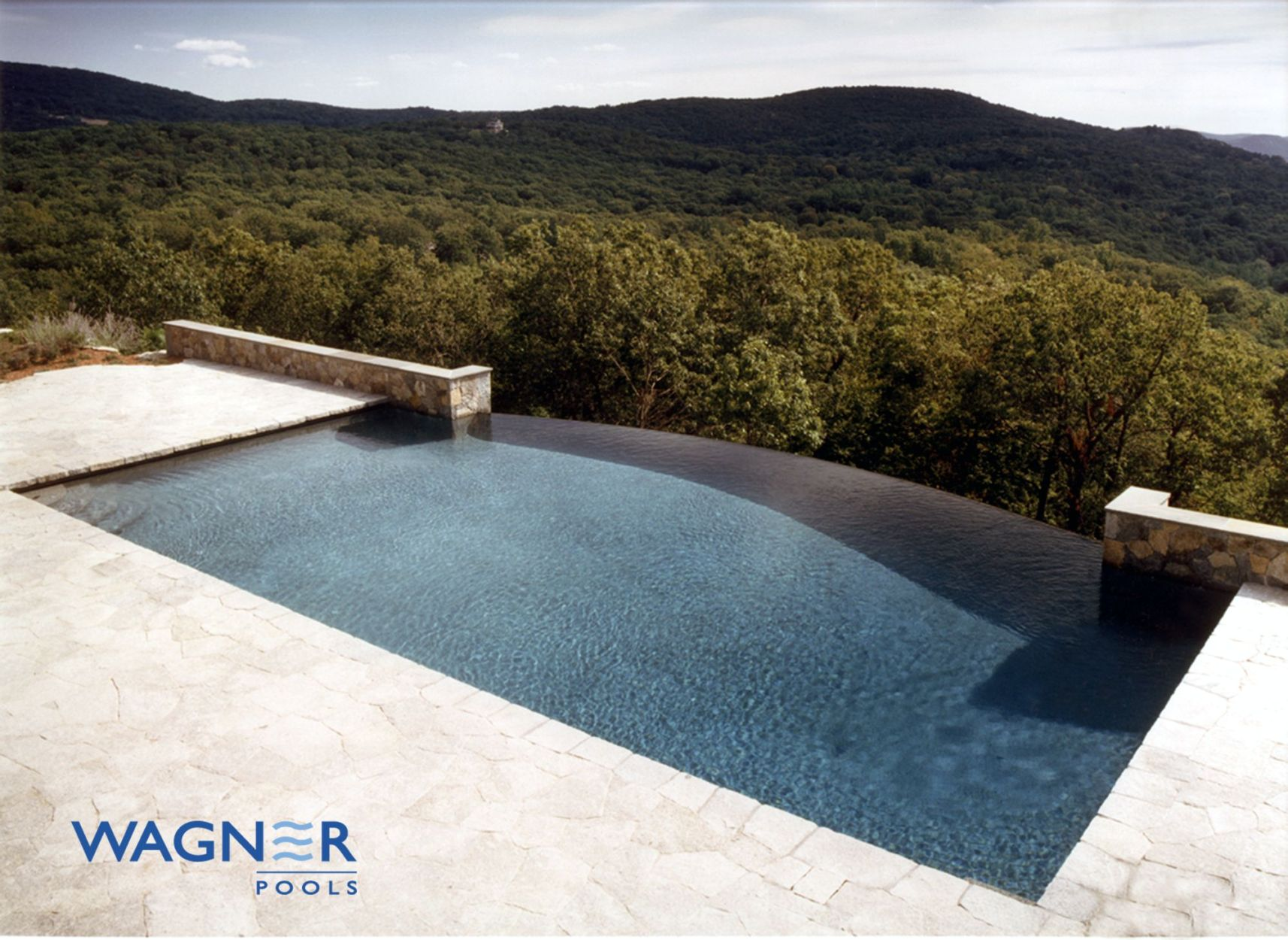 Vanishing edge swimming pools connecticut infinity pools in connecticut wagner pools - Infinity edge swimming pool ...